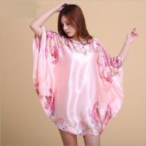 Váy Ngủ Phi Bóng 7050 Hồng Đỏ Vàng