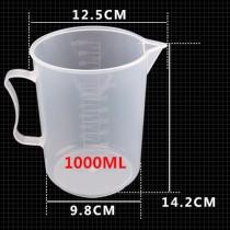 Bộ 2 Ca Đong Nhựa Có Vạch Chia Định Lượng 1 Lít
