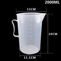 Ca Đong Nhựa Có Vạch Chia Định Lượng 2000ml
