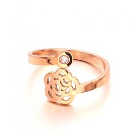 Nhẫn Inox Mạ Vàng JZ002
