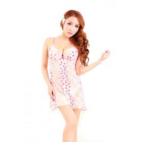 Váy Ngủ Gợi Cảm 6963 (Hồng Nhạt)
